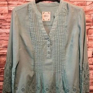 style co womens tops size medium, Bell Sleeve,